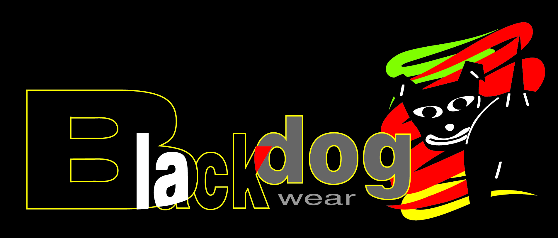 Black Dog Wear logo